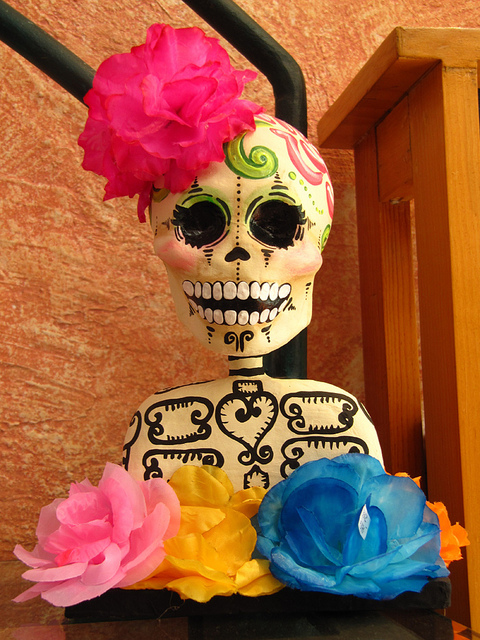 Introducing citizen blue studio tea blog tea collection during celebrations in mexico like da de muertos day of the dead flowers play a large role in the decor learn how to make tissue paper flowers similar mightylinksfo Choice Image