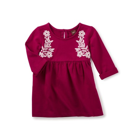 Ailsa Girls Embroidered Dress