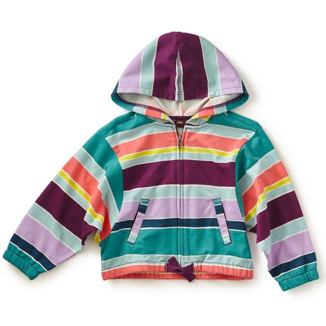 ceramica amalfi zip hoodie