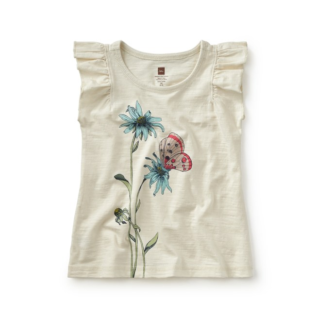 Alessandra Flutter Tee at Tea Collection