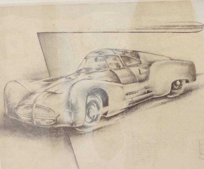 Car in Museum