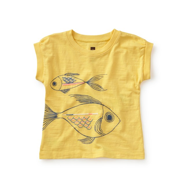 Fish Faces Graphic Tee