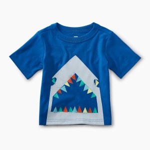 Boys Neon Great White Graphic Tee