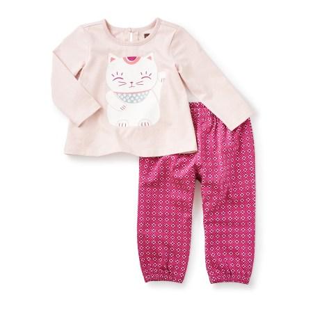 Maneki Neko Baby Outfit