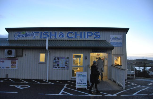 Scotland Fish and Chips