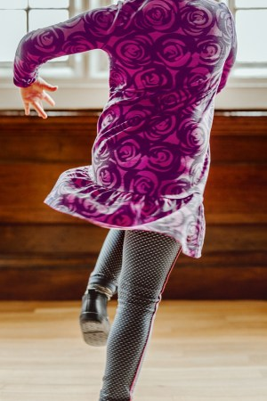 Mackintosh Rose Dress for Girl