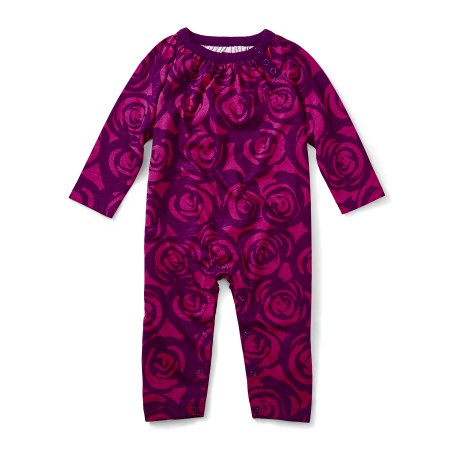 globally inspired baby girl romper