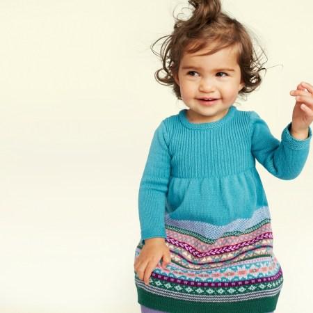 Baby Girl Suzette Sweater Dress