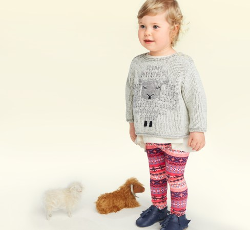 Baby Girl Uan Sweater