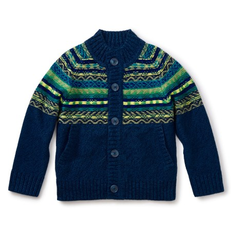 Boy Crosbie Button Cardigan