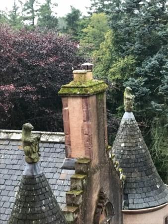 Fyvie Castle Scotland Stonework