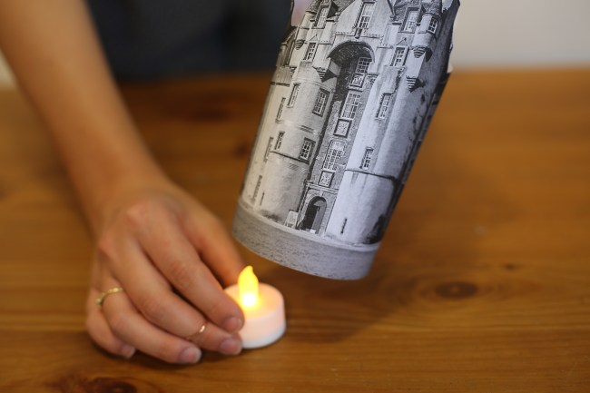 DIY Illuminated Scottish Castles