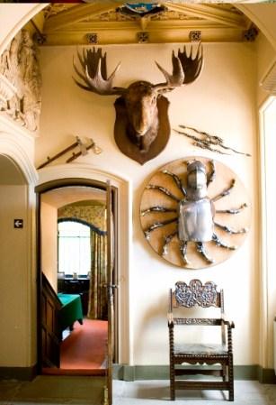 Fyvie Castle Scotland Moose