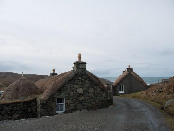 Lewis and Harris Blackhouses