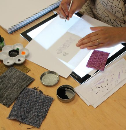 Behind the design Harris Tweed