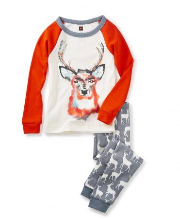 Boy Red Deer Pajamas