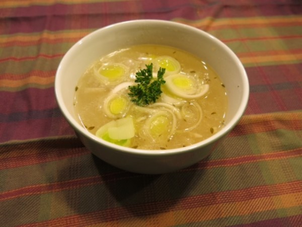 Cock-A-Leekie Soup Recipe