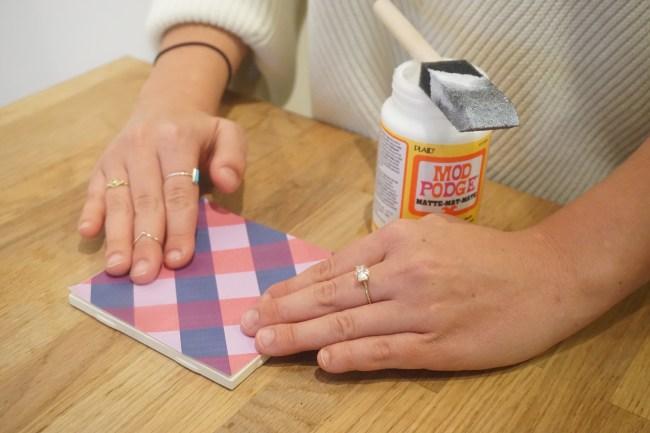DIY Tea Inspired Tile Coasters