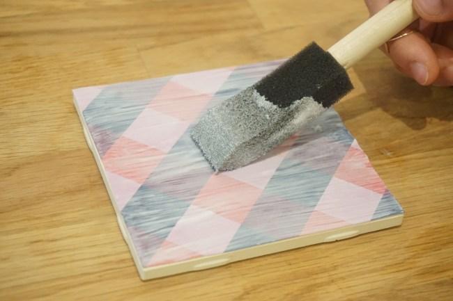 DIY Tile Coasters Pattern