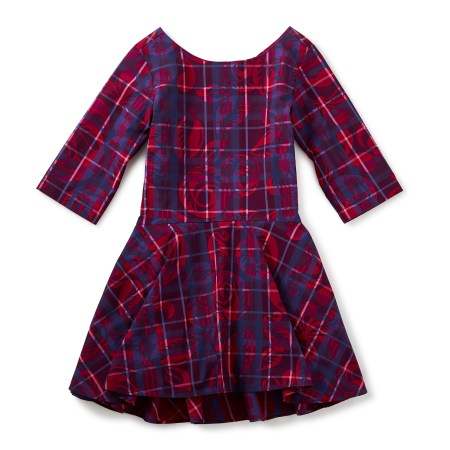 Culzean Castle Ruffle Dress