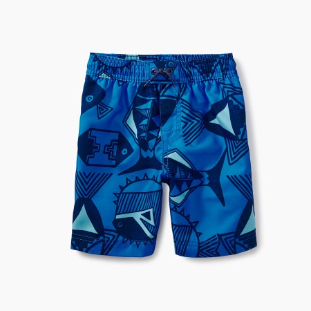 MIAC Print Swim Trunks