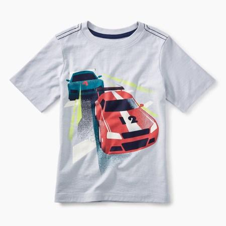Race Car Graphic Tee
