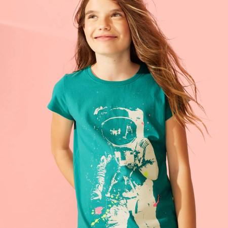 Tween Astronaut Graphic Tee