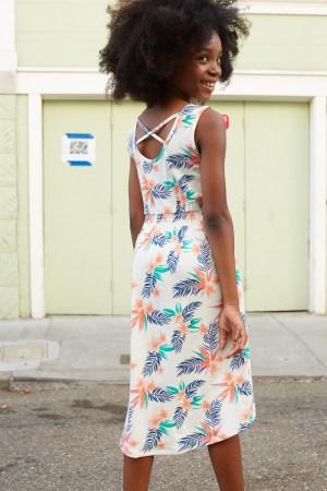 Hawaiian Florals Hi Lo Tank Dress