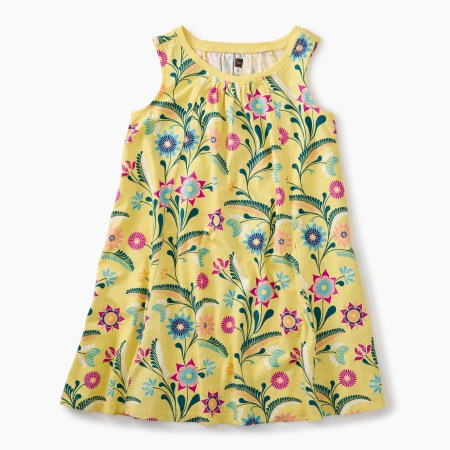 Girls Trapeze Dress