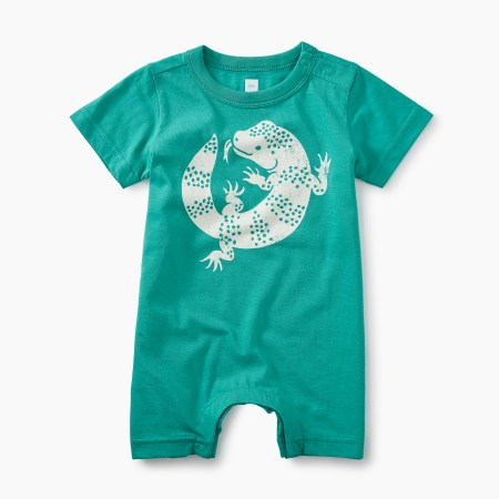 Baby Lizard Graphic Romper