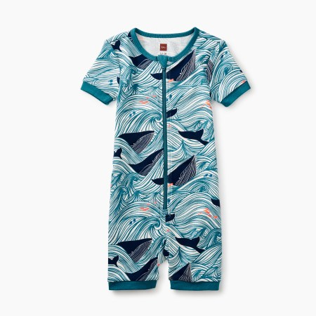 Baby Boy Short Sleeve Baby Pajamas