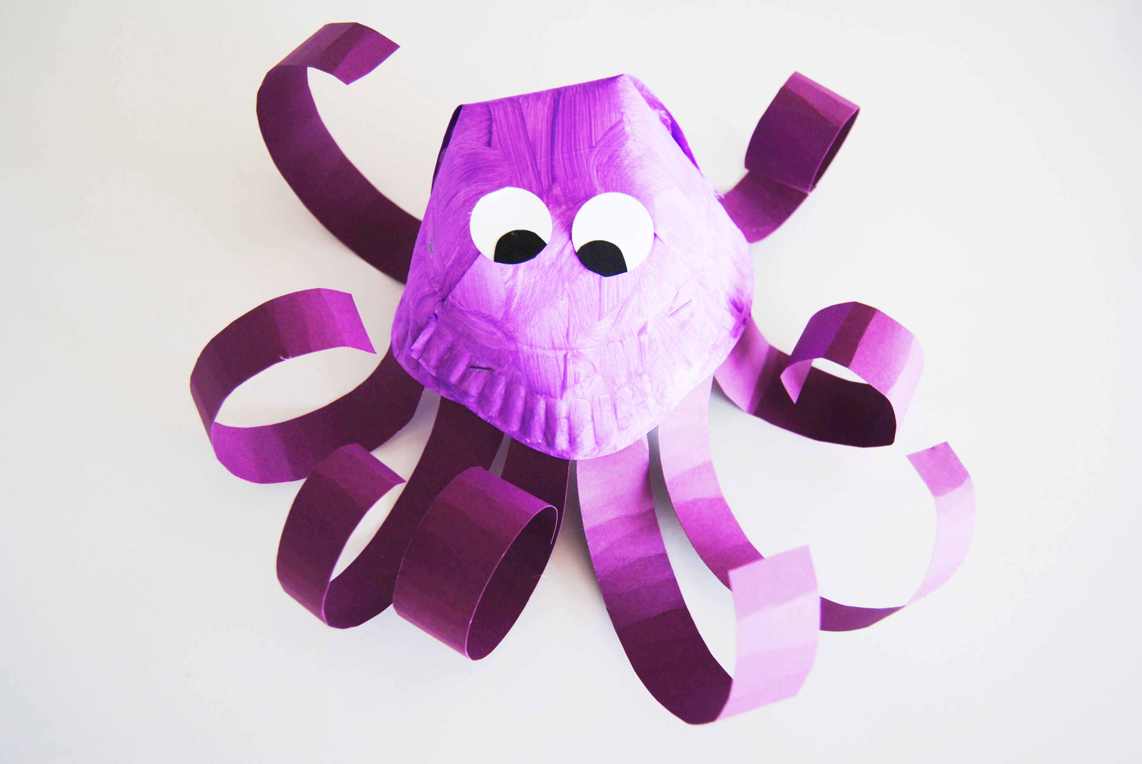 Octopus Craft Finished