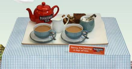 Get Your Own Yorkshire Tea Sign