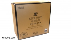Marks & Spencer Gold Label Tea