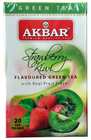 Akbar Strawberry Kiwi Green Tea