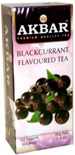 Akbar Blackcurrant Tea Bags