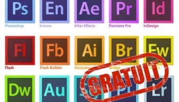 Avoir tous les logiciels d'Adobe CC 2018 gratuitement pour windows