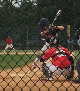 C Spencer Horowitz (shown hitting in this photo)