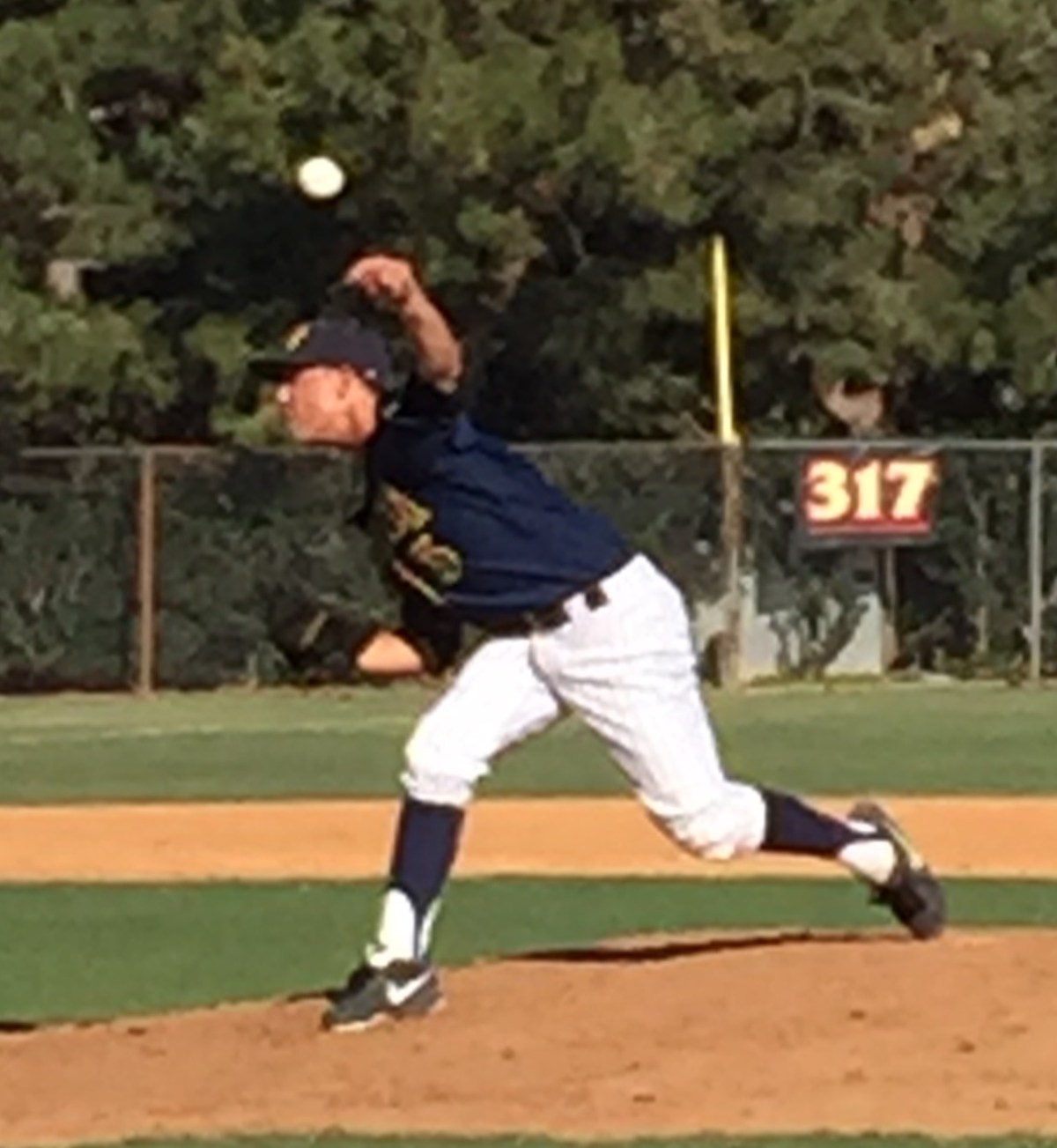 2015 LHP Jacob Hughey (Long Beach Millikan HS)