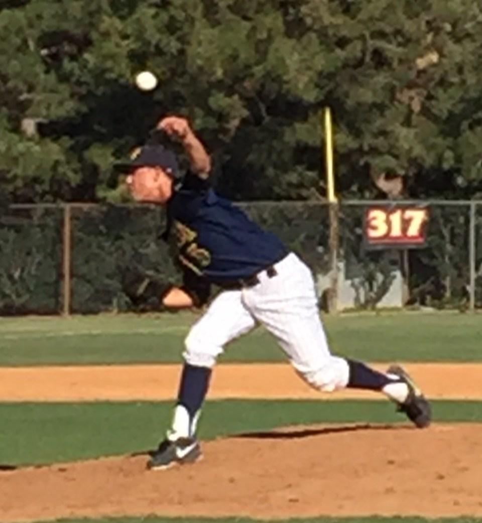 2015 LHP Jacob Hughey (Long Beach Millikan HS)