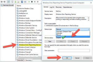 Windows Error Reporting (WER)