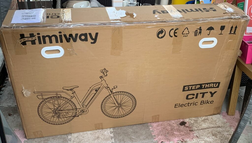 Himiway City Pedelec e-Bike Review 18