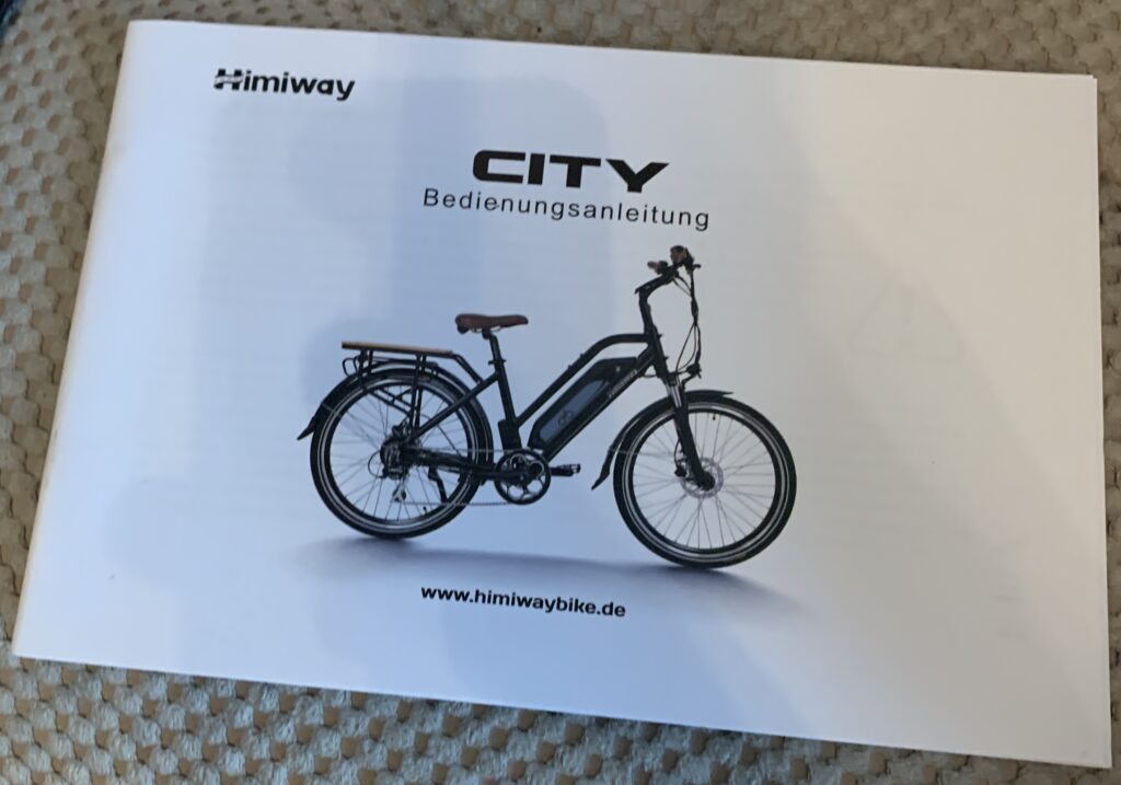 Himiway City Pedelec e-Bike Review 21