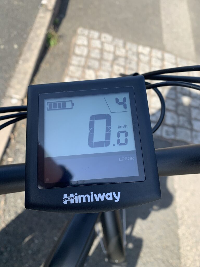 Himiway City Pedelec e-Bike Review 30