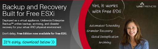 4 ferramentas gratuitas para backup de VMware (inclusive ESXi gratuito) e Microsoft Hyper-V