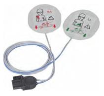 Cómo se colocan los electrodos de desfibrilación en niños: