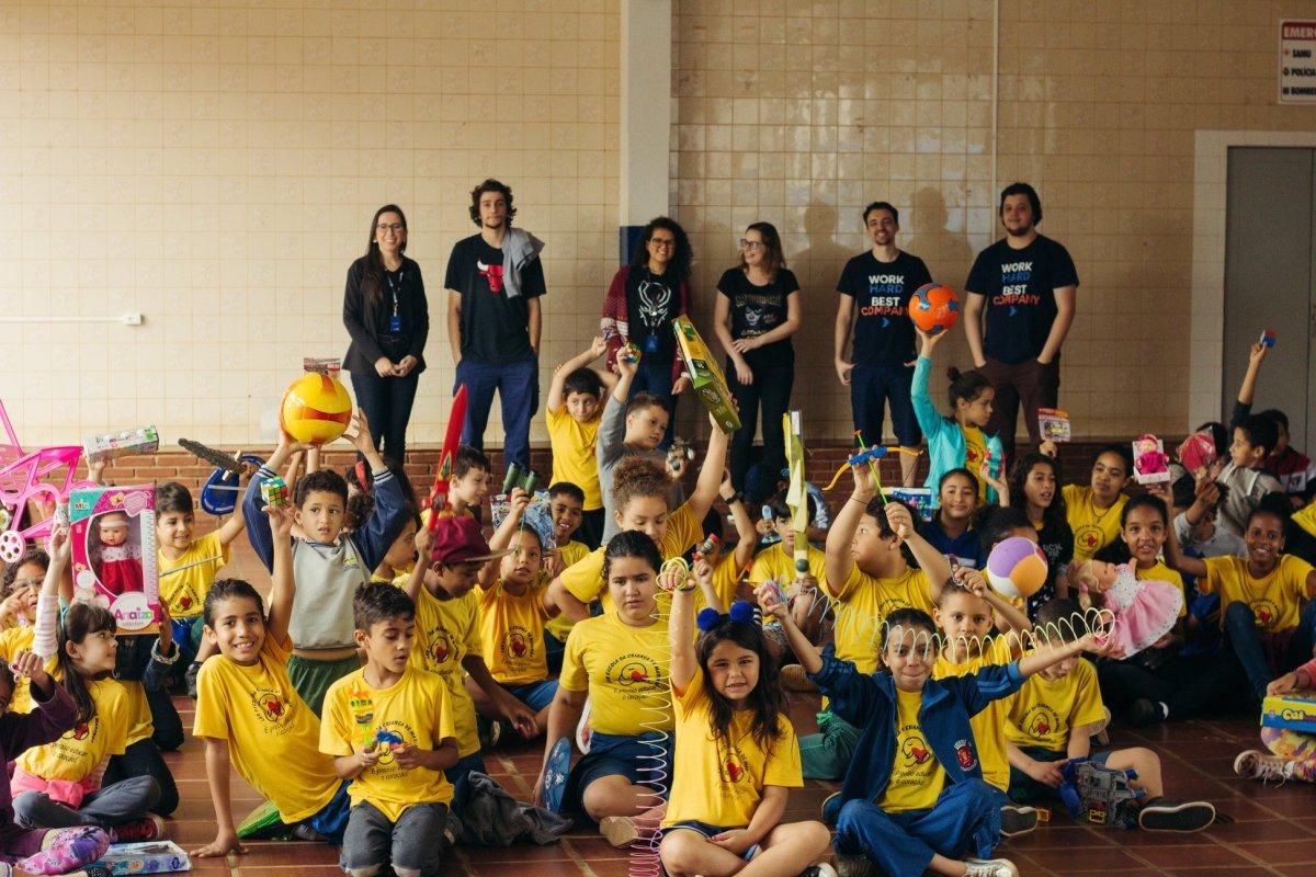 TecnoSpeed realiza ação social<br> para o Dia das Crianças