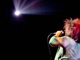Photo of the day: A moment with Reggie Watts
