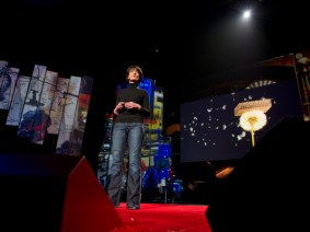 The only way to learn to fly is to fly: Regina Dugan at TED2012