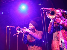 Bringing Brooklyn bhangra to the main stage: Red Baraat at TED2012